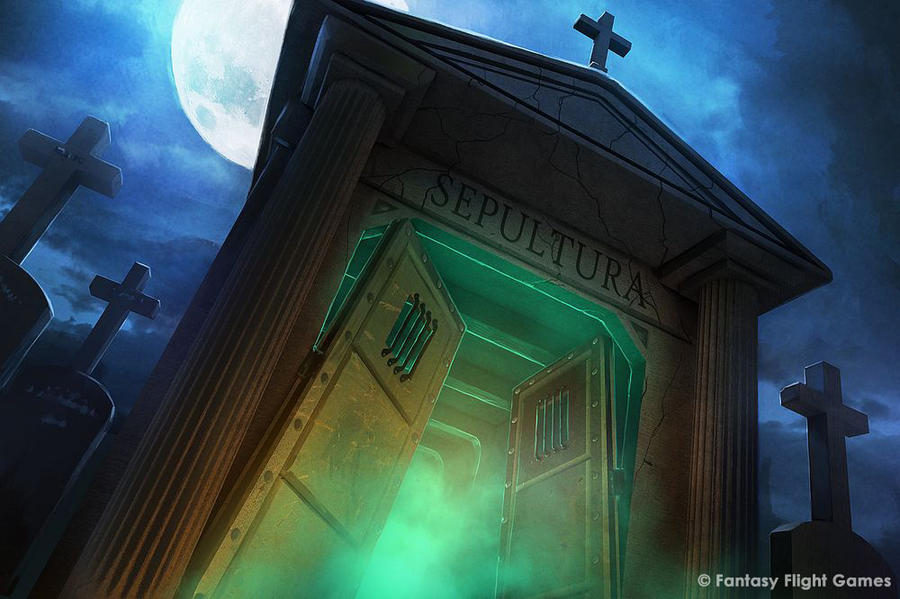 The Graveyard (Gate) by Cristi-B