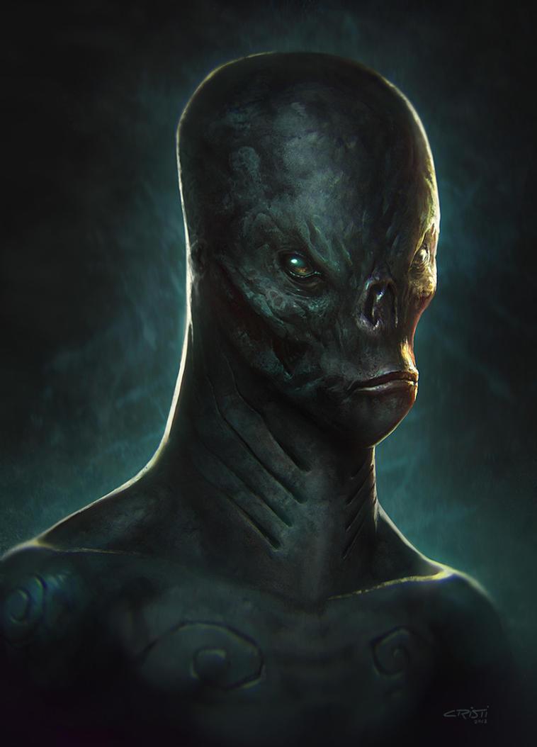 Alien concept by Cristi-B