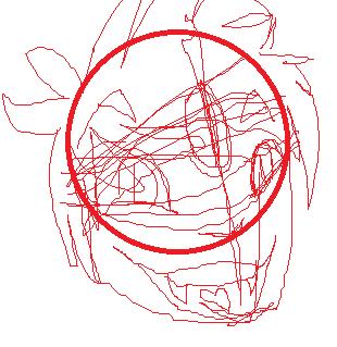 Cat Eye Sketch by trinitytac0419