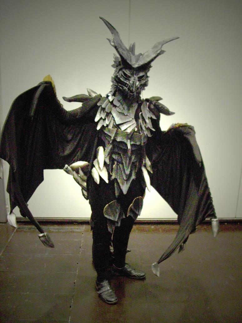 Epic Skyrim-dragon cosplayer by Master-Kankuro on DeviantArt