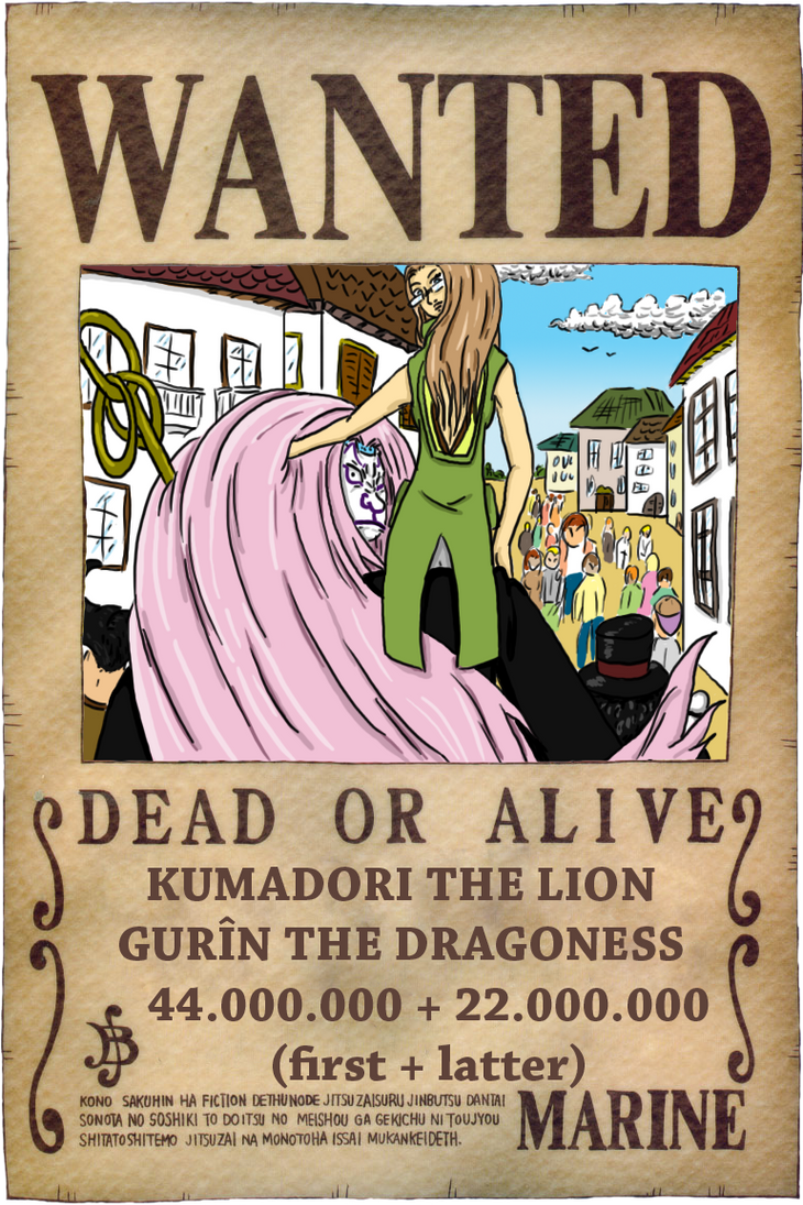 WANTED by Master-Kankuro