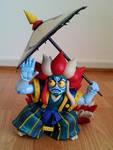 custom Kabukiroid figure