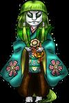 Hinamatsuri 2020 - Fushishi doll by Master-Kankuro