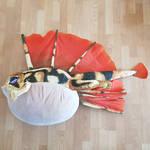 life sized Tricktoad plush by Master-Kankuro