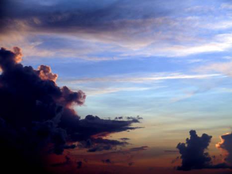 Colored Skies I