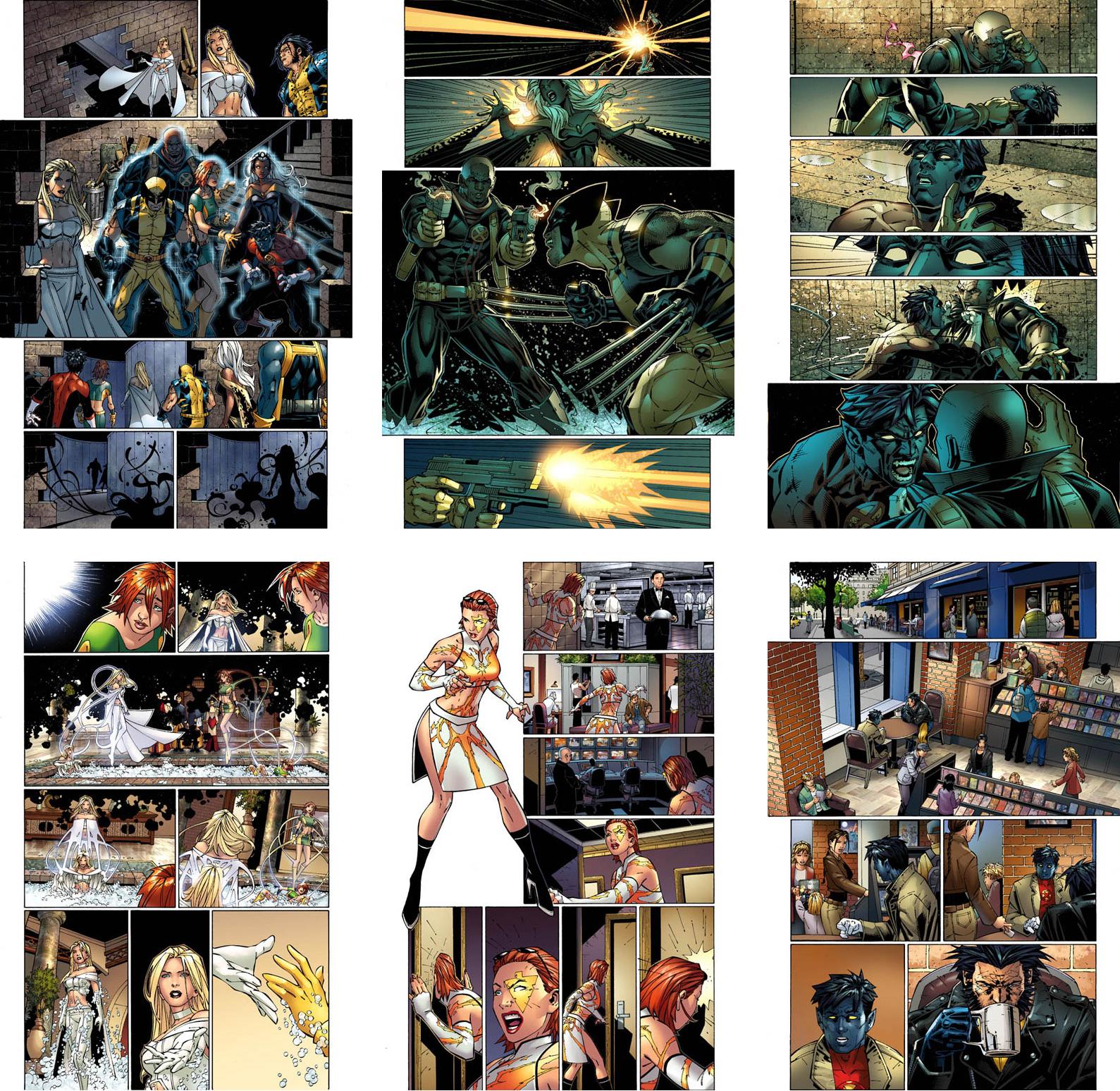 Uncanny X-Men by andyparkart