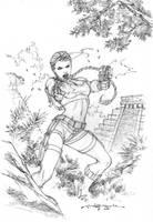 Lara Croft 02 by andyparkart