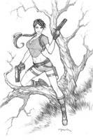 Lara Croft 03 by andyparkart