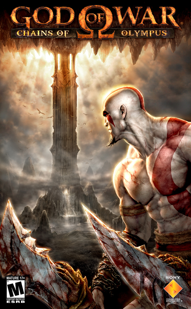 [PSP] God of War Chains of Olympus [ESPAÑOL] [EUR] [MEGA] God_of_War_PSP_Marketing_01_by_andyparkart