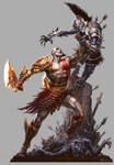 God of War III- PSM3 Artwork