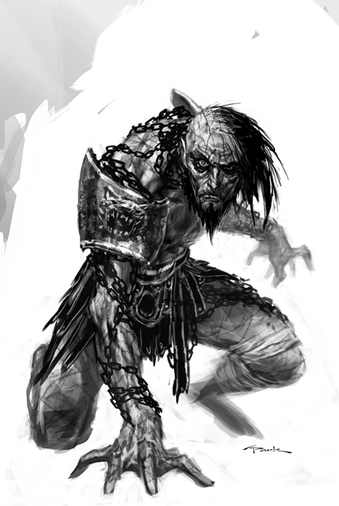 DeviantArt: More Like God of War III- Scorpius by andyparkart