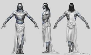 God of War III- Poseidon God