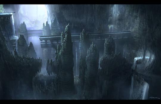 God of War III- Olympus Base