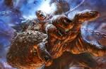 God of War III- Titan Battle