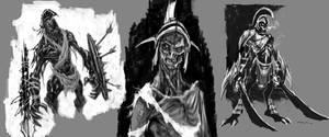 God of War III- Grunts02 by andyparkart