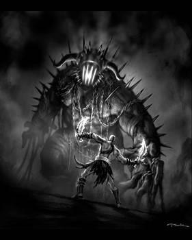 God of War III-Hades Battle02
