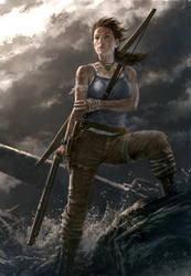 Tomb Raider- Rebirth by andyparkart