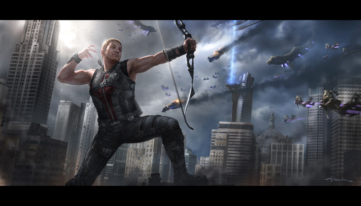 Imagenes de Calidad (no-anime) - Página 21 The_avengers__hawkeye_by_andyparkart-d52t3d0