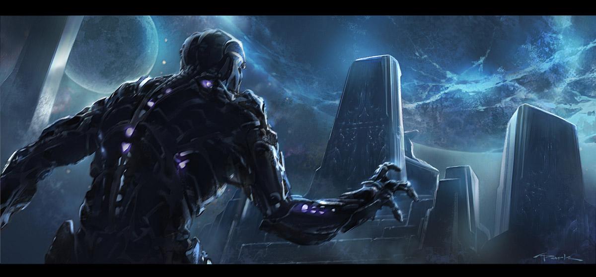 The Avengers- Thanos R... Amazing Spider Man 2 Electro Concept Art