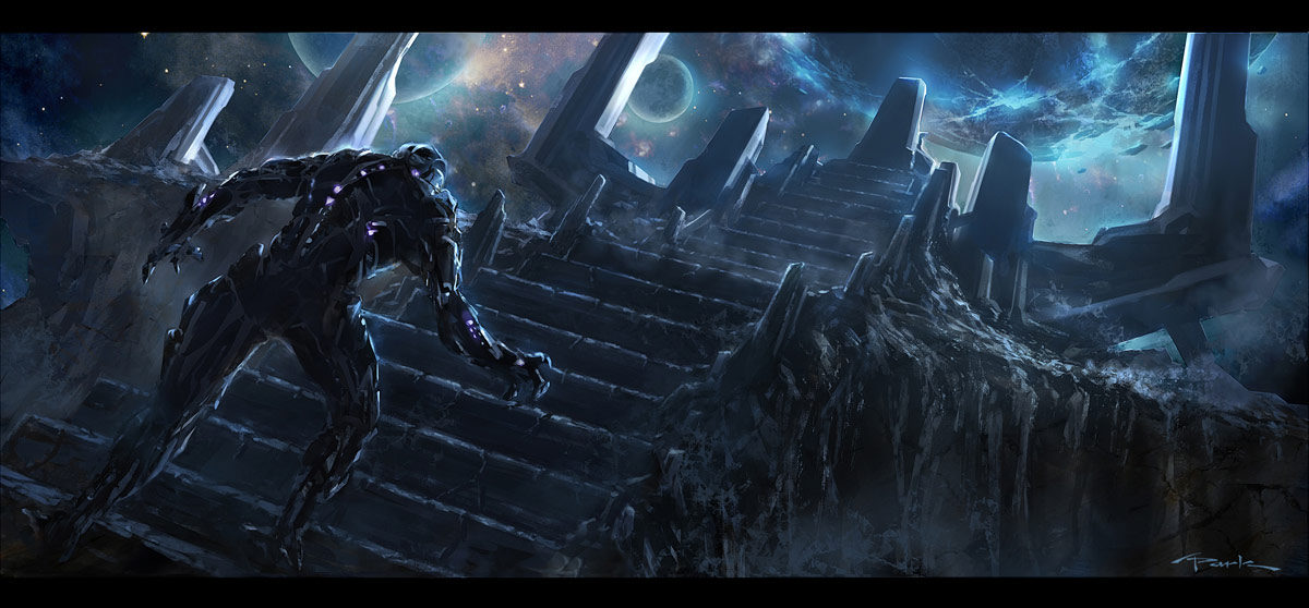 The Avengers- Thanos Reveal 01 by andyparkart