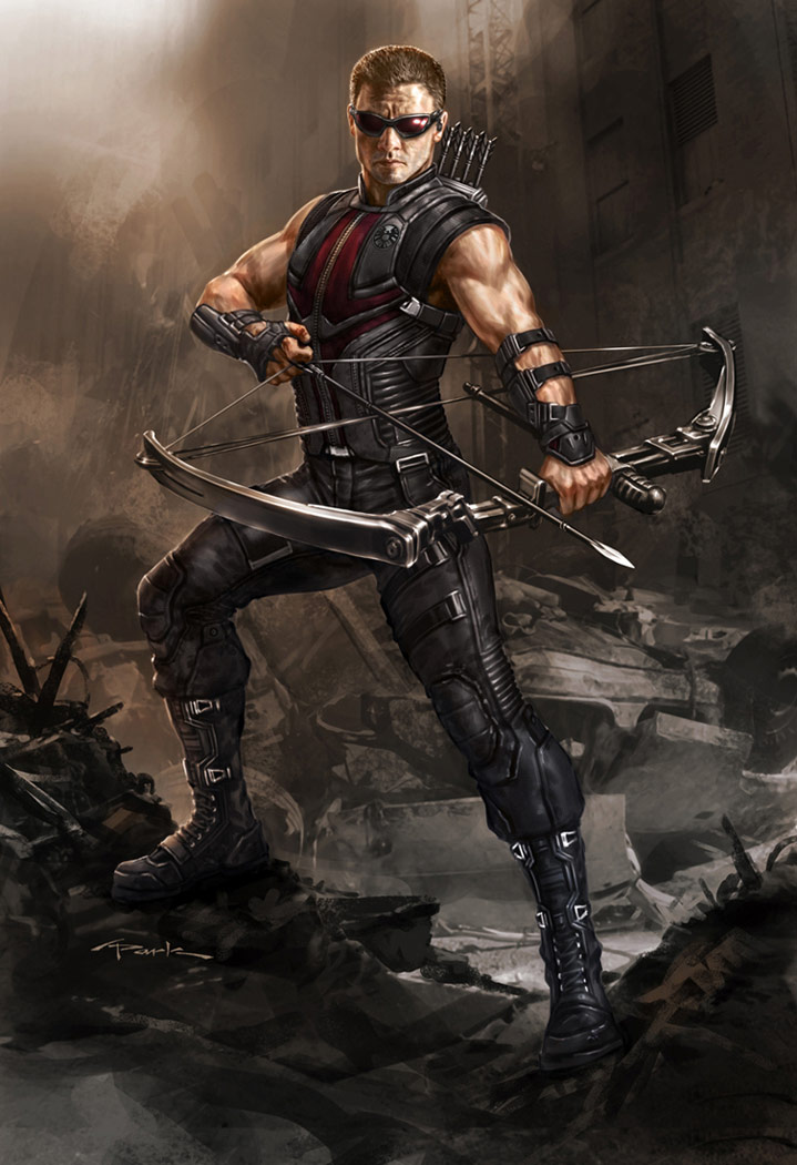 The Avengers- Hawkeye 01 by andyparkart