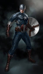 The Avengers- Captain America by andyparkart