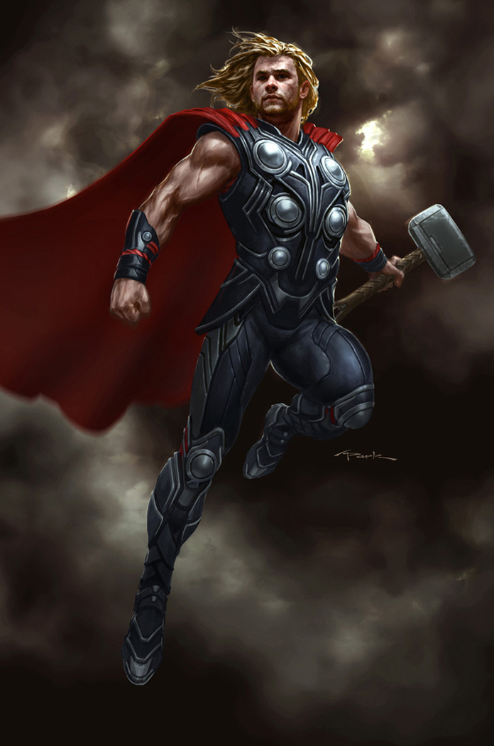 The Avengers- Thor 01 by andyparkart