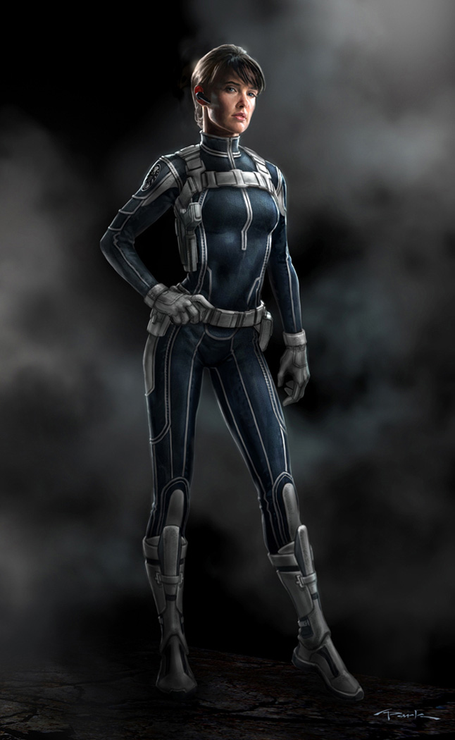 The Avengers- Maria Hill 02 by andyparkart