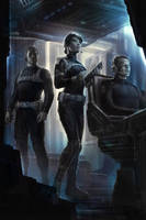The Avengers- Maria Hill and SHIELD by andyparkart