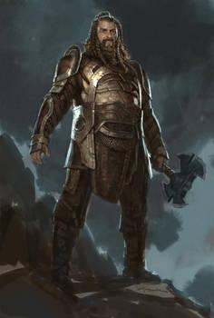 Thor: The Dark World- Volstagg
