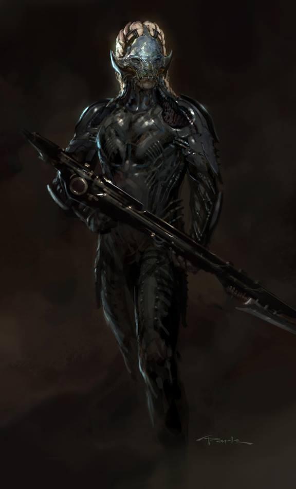 Thor: The Dark World- Dark Elf02 by andyparkart