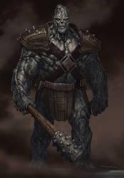 Thor: The Dark World- Kronan Stone Man