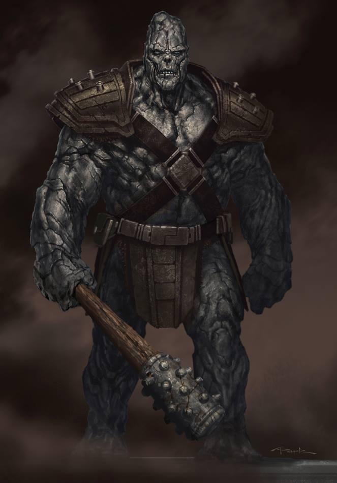 Thor: The Dark World- Kronan Stone Man by andyparkart
