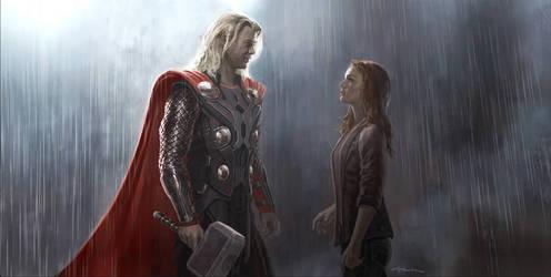 Thor: The Dark World- Thor and Jane Keyframe