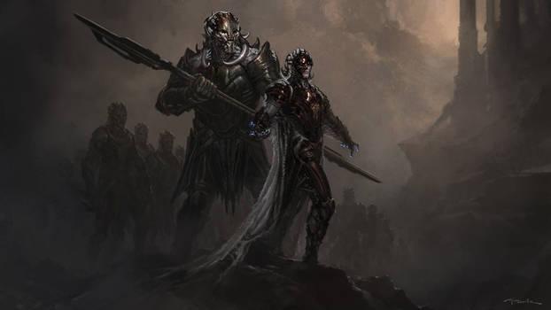 Thor: The Dark World- Malekith and Algrim
