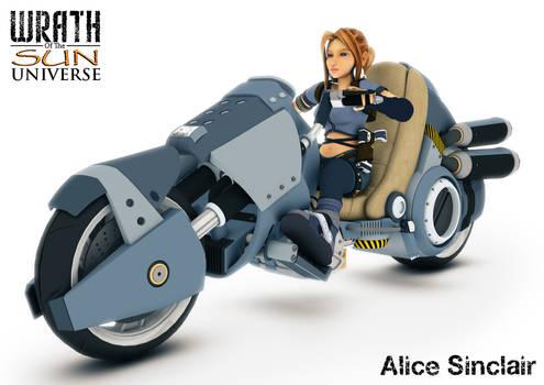 Alice on Bike