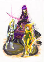 X-Girls Redesign by IanNichols