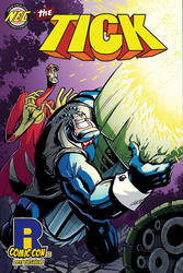 The Tick 2017 RICC Exclusive Cover