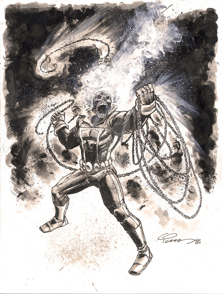 Ghost Rider Commission by IanNichols