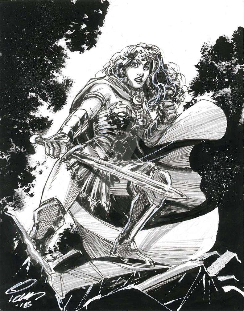 Wonder Woman by IanNichols