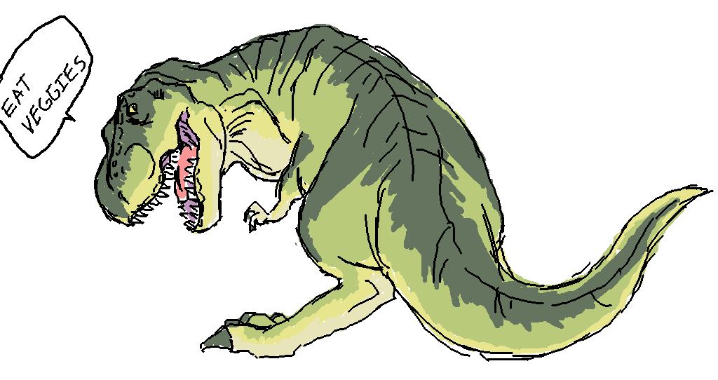T-rex by Darci-San on DeviantArt