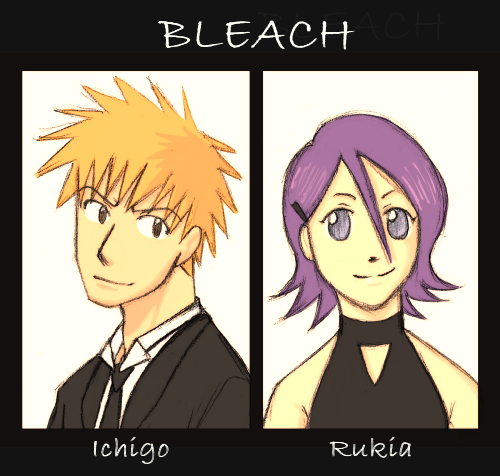 Ichigo x Rukia by Darci-San on DeviantArt