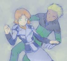 Dearka and Miriallia by Darci-San