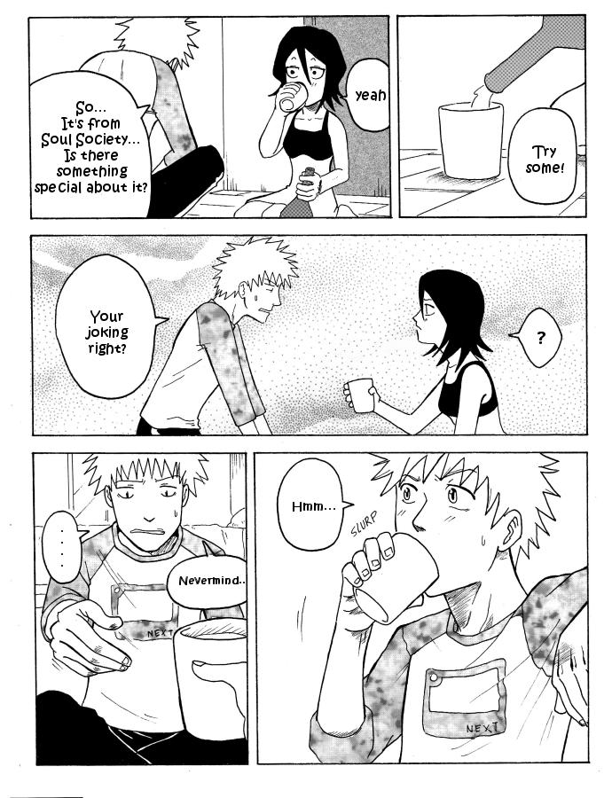 IchiRuki Doujinshi page 2 by Darci-San