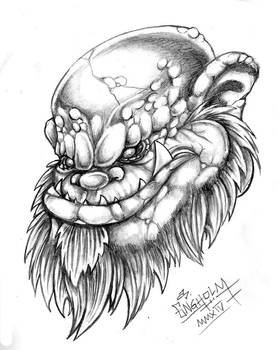 Older Troll drawing.