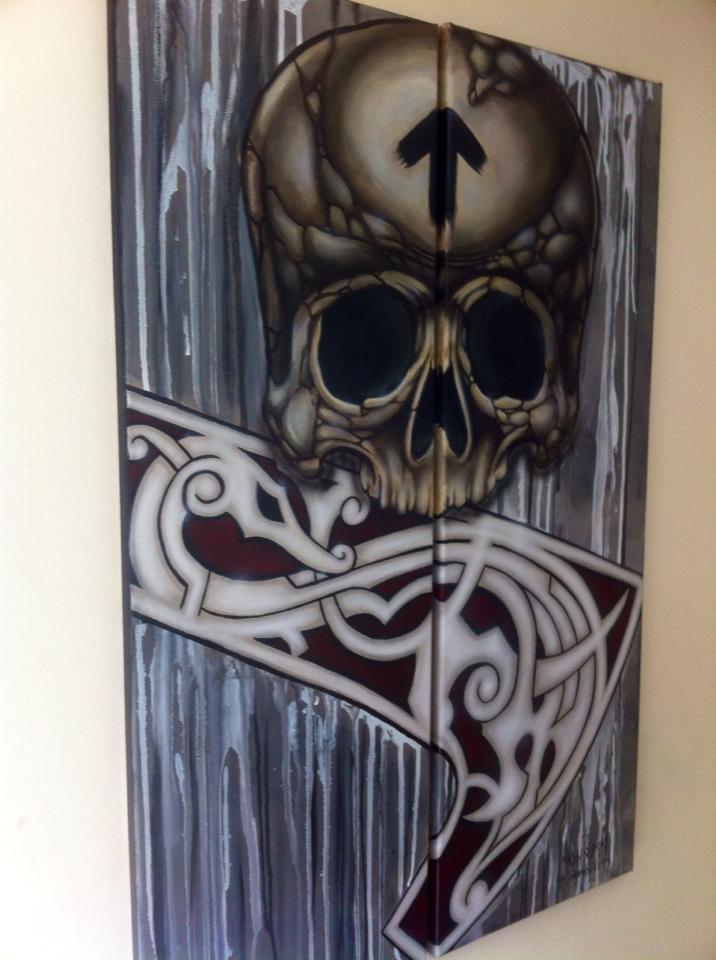 Nordic Savage - Skull 2 by Stafdk