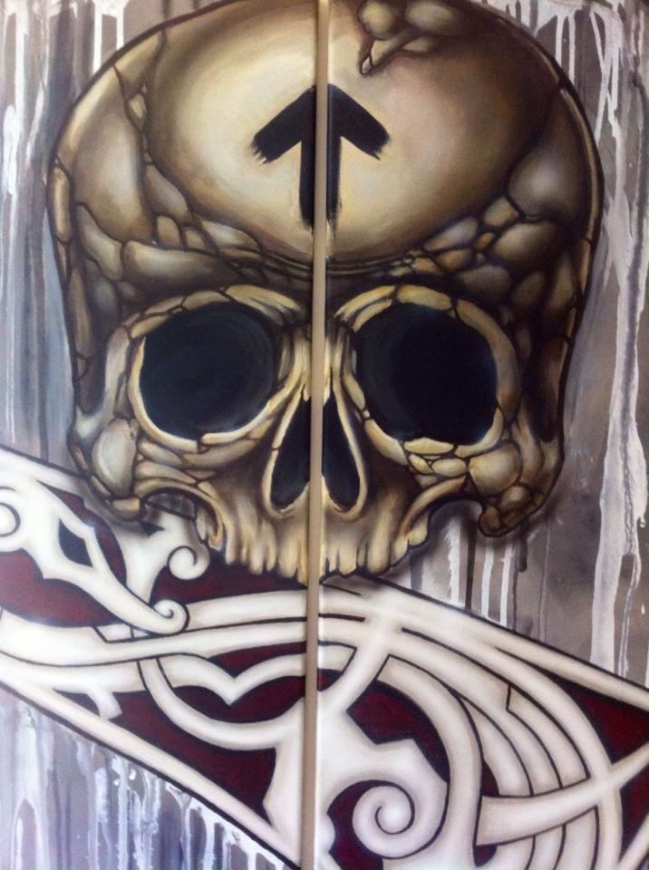 Nordic Savage - Skull 3 by Stafdk
