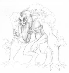 old Ent sketch - or something like it.