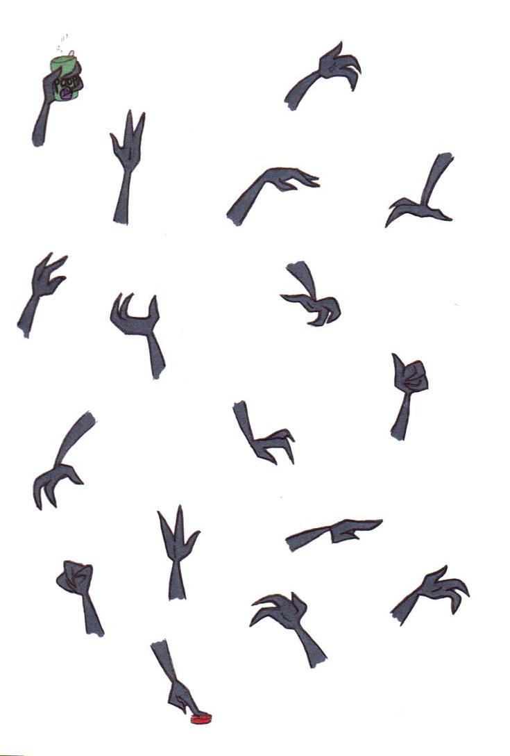 Irken Hand Practice by WindWo1f
