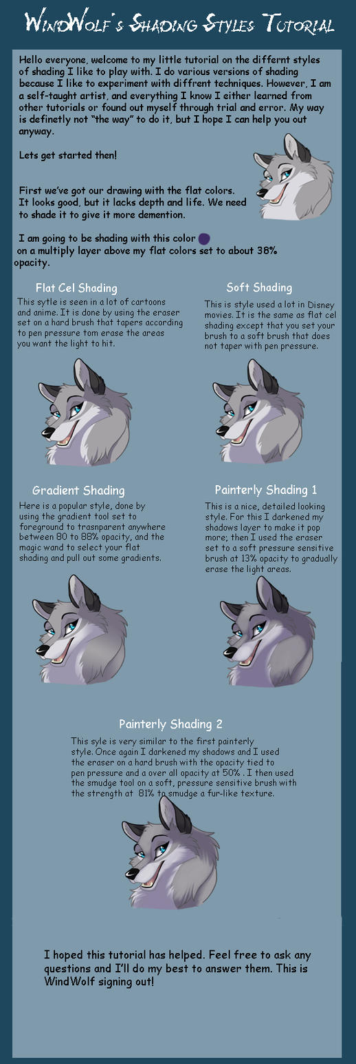 Shading Styles Tutorial (OLD) by WindWo1f